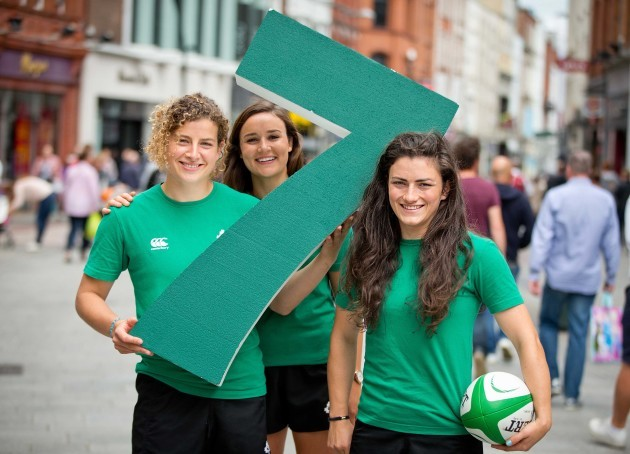 Jenny Murphy, Louise Galvin and Lucy Mulhall