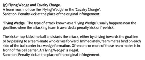 Flying Wedge