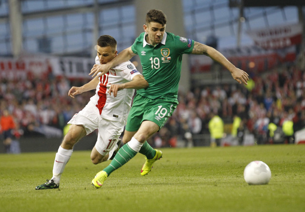 Ireland Poland Euro Soccer