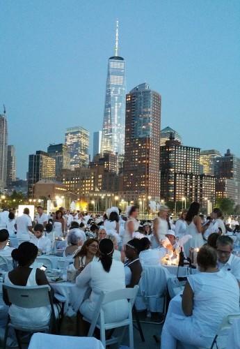 NYC Diner en Blanc