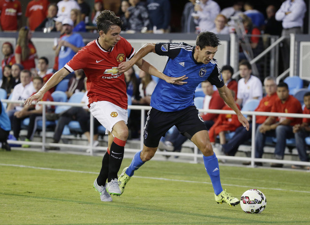 Man United Earthquakes Soccer