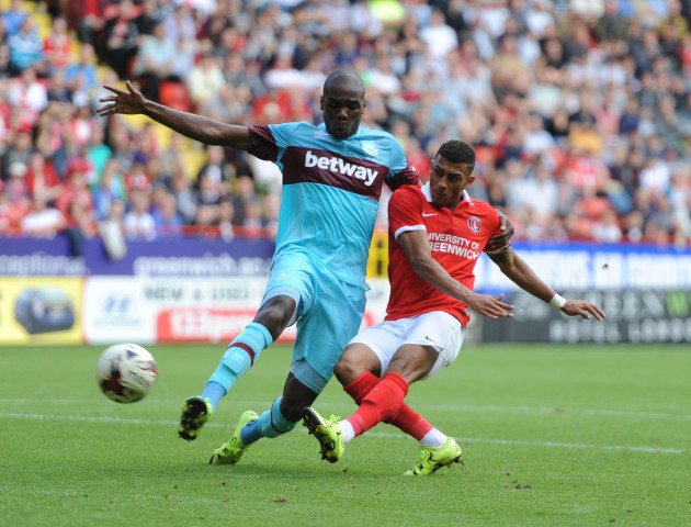 Soccer - Pre Season Friendly - Charlton Athletic v West Ham United - The Valley