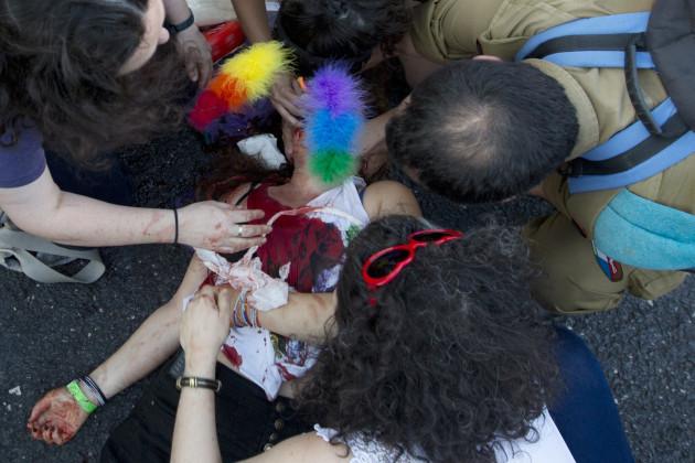 Mideast Israel Gay Parade Attack