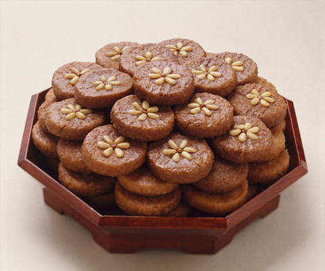 yakgwa, honey cookies
