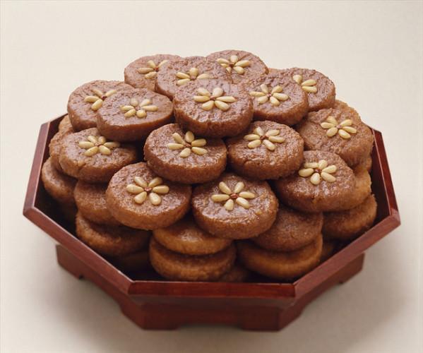 yakgwa, honey cookies