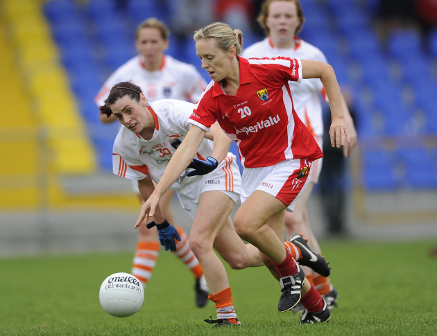 Nollaig Cleary with Mairead Tennyson