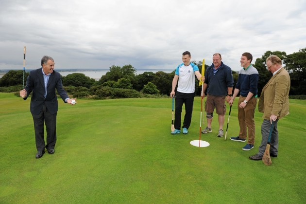 Launch of Ireland's first Poc Fada Golf Course at Howth Castle