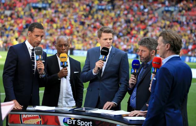 Soccer - FA Cup - Final - Arsenal v Aston Villa - Wembley Stadium