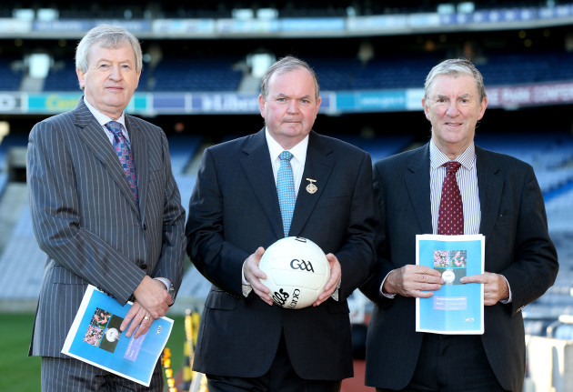 Paraic Duffy, Liam O'Neill and Eugene McGee