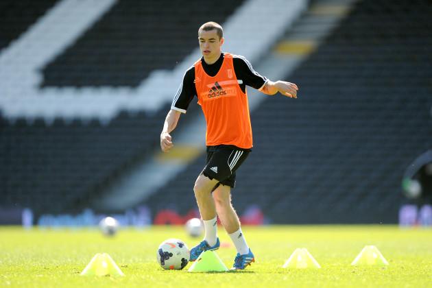 Soccer - Barclays Premier League - Fulham Open Training Session - Craven Cottage