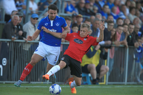 Soccer - Pre Season Friendly - Portsmouth v Coventry City - Havant and Waterlooville