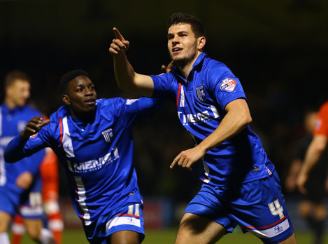 Soccer - Sky Bet League One - Gillingham v Chesterfield - Priestfield Stadium