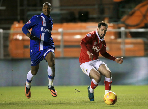 Soccer - Johnstone's Paint Trophy - Area Final - Second Leg - Bristol City v Gillingham - Ashton Gate