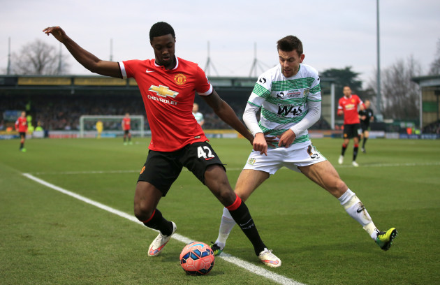 Soccer - FA Cup - Third Round - Yeovil Town v Manchester United - Huish Park