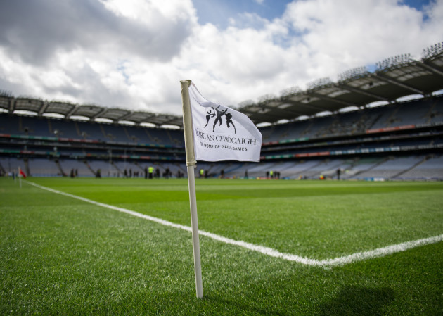General view of Croke Park ahead of today's games