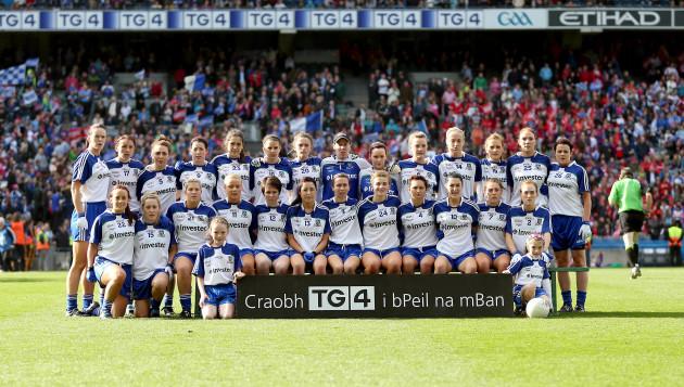 The Monaghan team