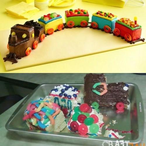 Candy train fail