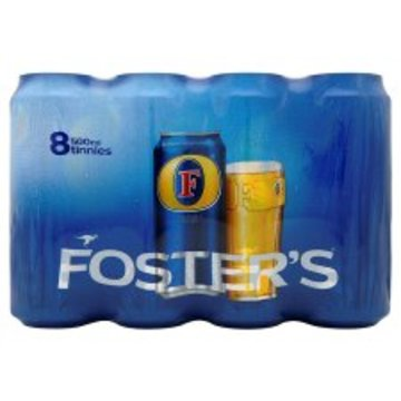 Fosters Lager 8 Pack Can 8X500ml - Groceries - Tesco Groceries