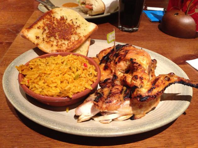 Nando's Set Meal