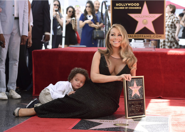 Mariah Carey Hollywood Walk of Fame Ceremony - Los Angeles