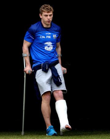 Philip Mahony injured