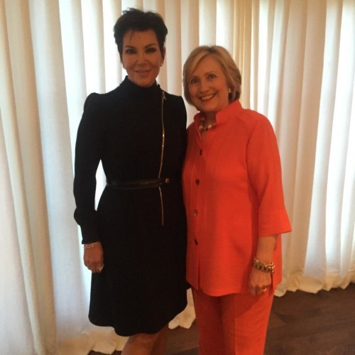 An Honor to meet you Hillary Clinton! Great evening... #ohjustchatting