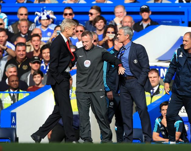 Soccer - Jose Mourinho and Arsene Wenger File Photo