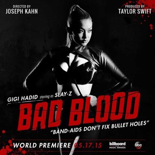 Meet Slay-Z. @gigihadid #BadBloodMusicVideo