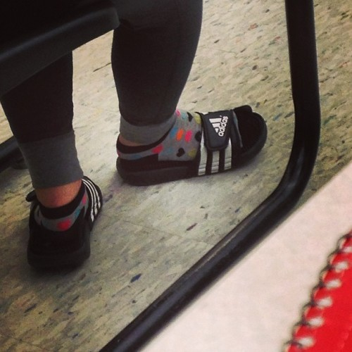 Fasion or because it just makes sense to wear this in the rain #fasion #nono #sockssandals #socksflipflops #socks #fasionnono