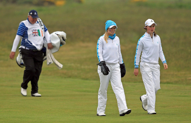 Leona Maguire and Stephanie Meadow 8/6/2012