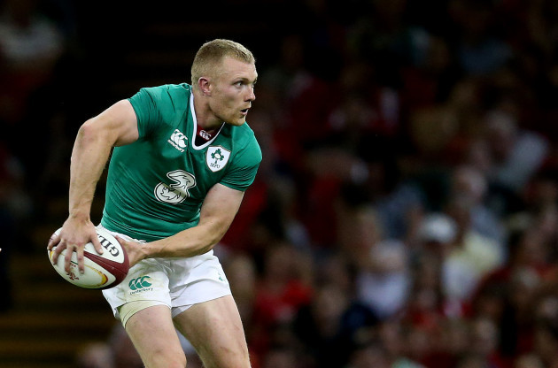 IrelandÕs Keith Earls