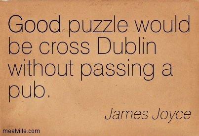 Here's the only way to cross Dublin without passing a pub
