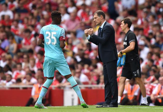 Soccer - Barclays Premier League - Arsenal v West Ham United - Emirates Stadium