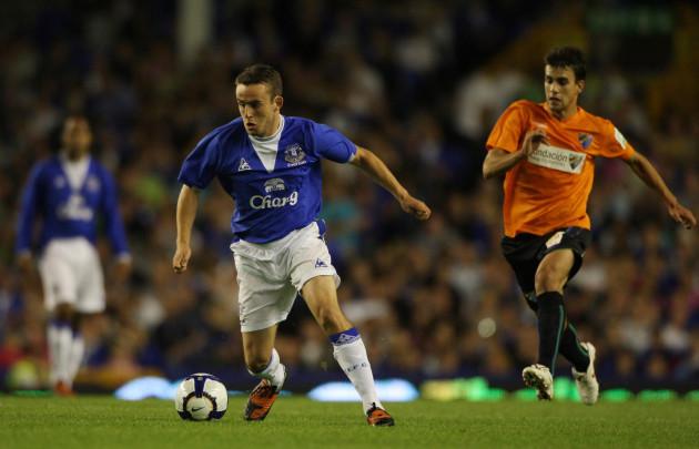 Soccer - Pre Season Friendly - Everton v Malaga - Goodison Park