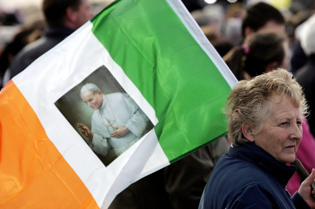 Pope John Paul II Funeral - Sunset Remembrance Service - The Phoenix Park