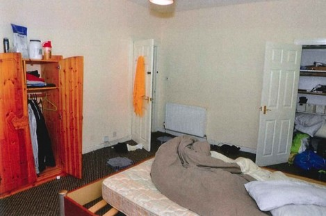 11 - Accused Bedroom Interior