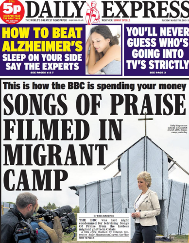 the express front cover
