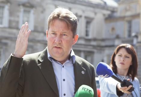 12/08/15 Fianna Fáil Senator Darragh O'Brien on