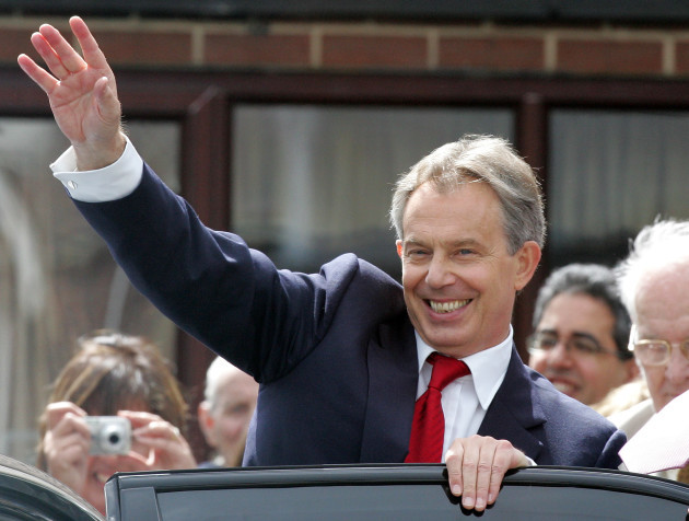 BRITAIN BLAIR RESIGNATION