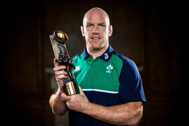 Paul OÕConnell named Guinness Rugby Writers of Ireland Player of the Year