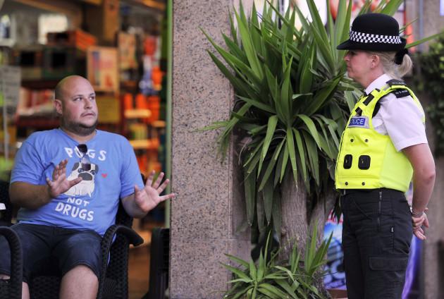 UK police visit the Balearic islands UK police visit Balearic islands
