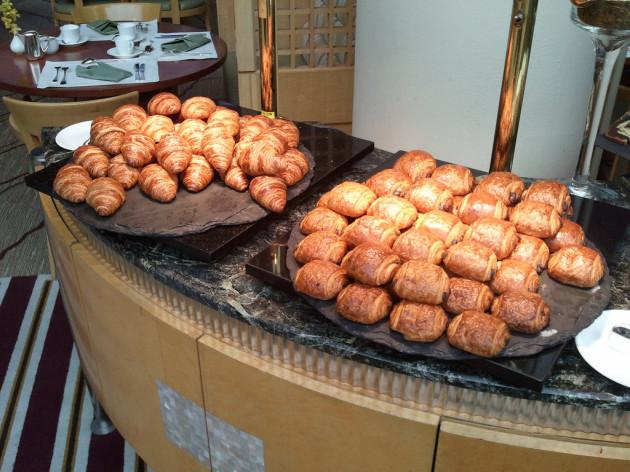 Breakfast at Ritz Carlton