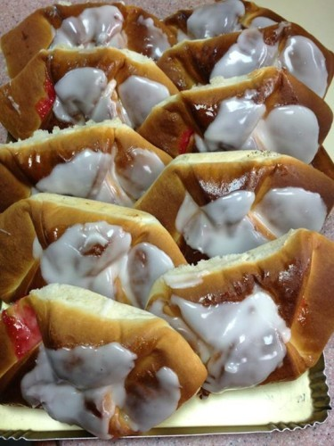 Jam turnovers with plenty of icing the only way