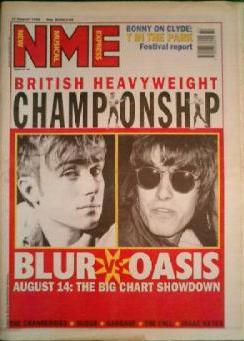 blur oasis nme