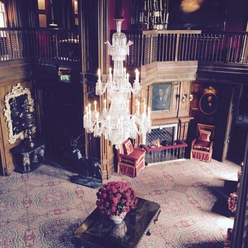 #ashfordcastle #ireland #interior #castle #mayo