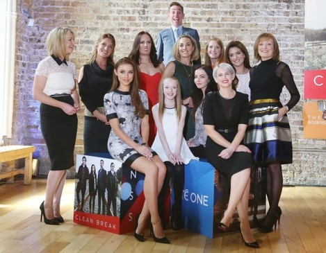 Tubs and the women of RTÉ One.
