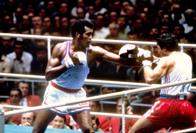 Boxing - Moscow Olympic Games 1980 - Heavyweight Division - Semi Final
