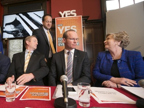 File Photo: Now that Taoiseach and Leader of Fine Gael, Enda Kenny has confirmed that he will step down at some stage during the term of the next Dail, the front runners to succeed him are Leo Varadkar, Frances Fitzgerald and Simon Coveney.