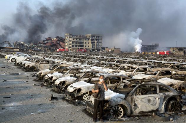 China Port Explosion