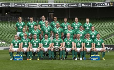 The Ireland squad to face Scotland